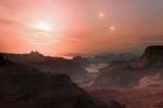 Ученые NASA нашли систему с тремя «солнцами» и тремя планетами, пригодными для жизни