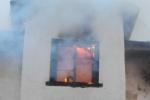 В Петроградском районе потушили пожар площадью в 600 квадратных метров