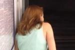 В метро Петербурга ездил поезд с открытыми дверьми