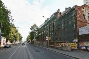 Часть реконструируемого здания обрушилась в центре Перми