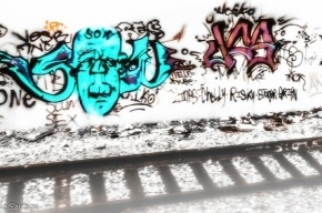 Подростки, погибшие на железной дороге, были граффитистами