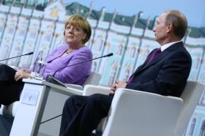 Путин и Меркель отменили совместное мероприятие в Эрмитаже из-за разногласий