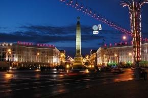 В Минске ливень затопил Вечный огонь