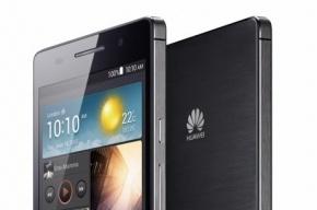 Huawei представила миру самый тонкий смартфон на планете