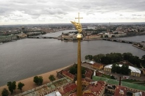 Петербургские руферы заявили, что смотрели на Медведева с Петропавловского собора