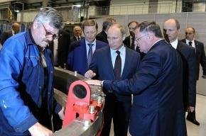 В Петербурге Путину показали, как мы делаем ракеты