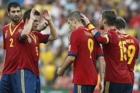 Испания в матче с Таити на Кубке конфедераций забила 10 голов
