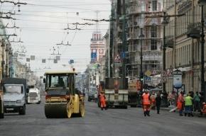 Вечером 28 июня Невский проспект закроют на ремонт