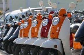 Госдума собирается временно запретить скутеры и мопеды