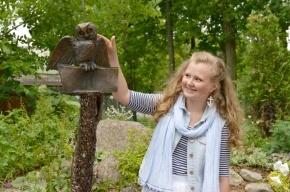 В Петербурге появился памятник сове, который помогает сдавать сессию