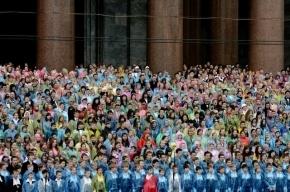 Петербургский сводный хор из четырех тысяч человек попал в «Книгу рекордов России»
