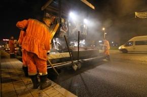 В Петербурге могут разрешить ремонт дорог в ночное время суток