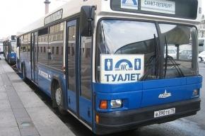 Туристический автобус слил фекалии из биотуалета на набережную Обводного канала