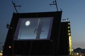 На разведенном пролете Троицкого моста покажут лазерное шоу