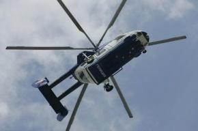 Полиция Петербурга ночью провела учения со стрельбой и вертолетами