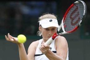 Последняя российская теннисистка выбыла из Уимблдона