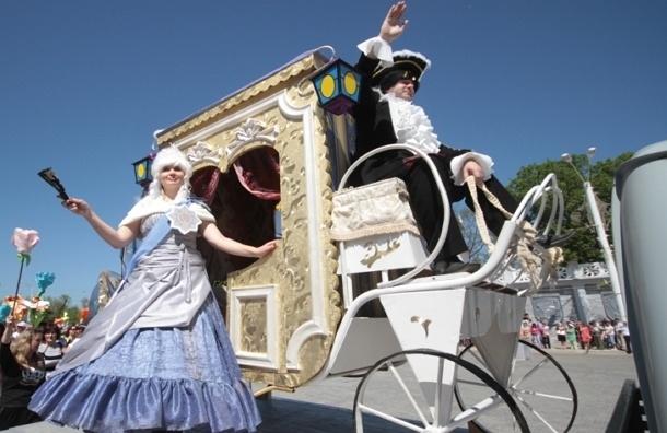 В день России в Москве пройдет исторический карнавал «Парад округов»