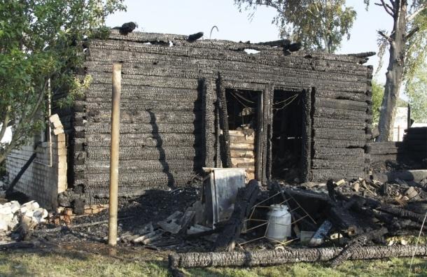 В пожаре под Смоленском погибли пятеро детей и один взрослый