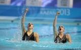 Командные выступления по синхронному плаванию на Универсиаде 2013 8 июля: Фоторепортаж