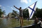 Фоторепортаж: «Купание в фонтанах День ВМФ»