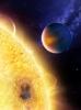 Звезда HD 189733 и ее «голубая» планета HD 189733 b: Фоторепортаж