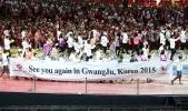 Церемония закрытия Универсиады 2013 в Казани: Фоторепортаж