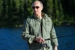 Фоторепортаж: «Путин на рыбалке в июле 2013 года»
