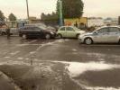 Двое детей пострадали в аварии с участием трактора в Петербурге: Фоторепортаж
