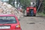 Фоторепортаж: «Пожар Варшавский вокзал 18 июля 2013»