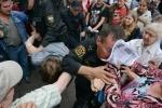 Акция в поддержку Навального на Малой Садовой, 18.07: Фоторепортаж