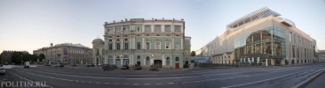 Проект реконструкции фасада Мариинки-2: Фоторепортаж