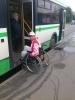 Колясочники и транспорт: Фоторепортаж