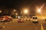 Пожар в гипермаркете О'Кей на Савушкина : Фоторепортаж