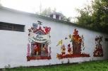 Граффити по мотивам сказок на улицах Москвы: Фоторепортаж