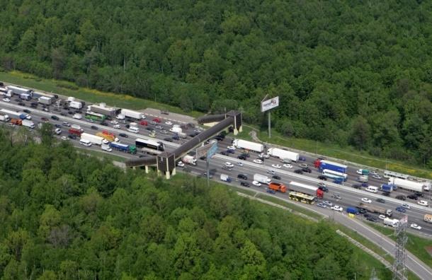 16 путепроводов на кольцевых автодорогах А-107 и А-108 построят в Подмосковье