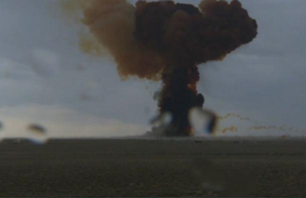 Стартовавшая с Байконура ракета