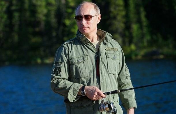 Путин поймал 21-килограммовую щуку - ВИДЕО