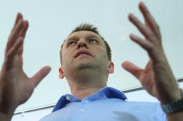Навальный на презентации предвыборной программы: Фото