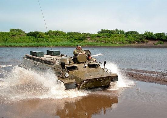 Учения в Восточном военном округе: Фото