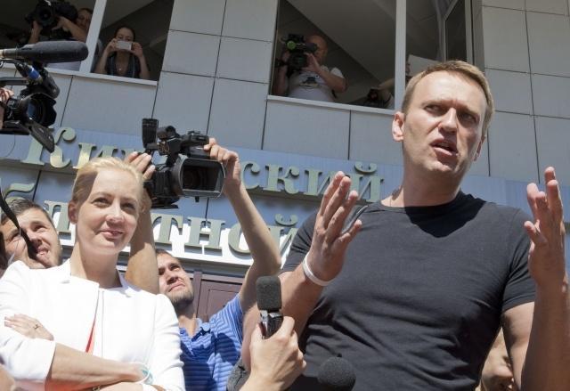 Суд освободил под подписку о невыезде Алексея Навального: Фото