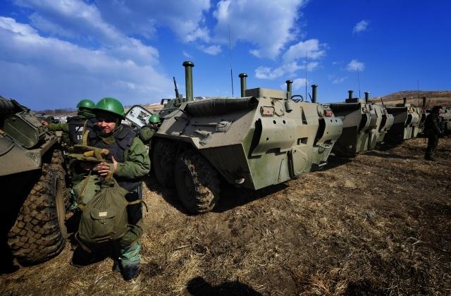 Военные учения разные: Фото