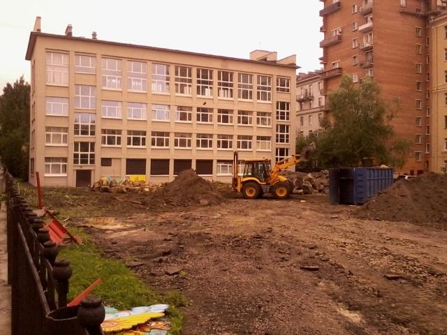 Сквер на улице Опочининой: Фото