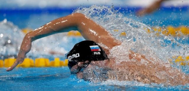 Данила Изотов на ЧМ по водным видам спорта 2013: Фото