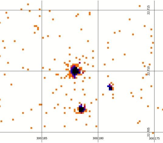 Звезда HD 189733 и ее «голубая» планета HD 189733 b: Фото