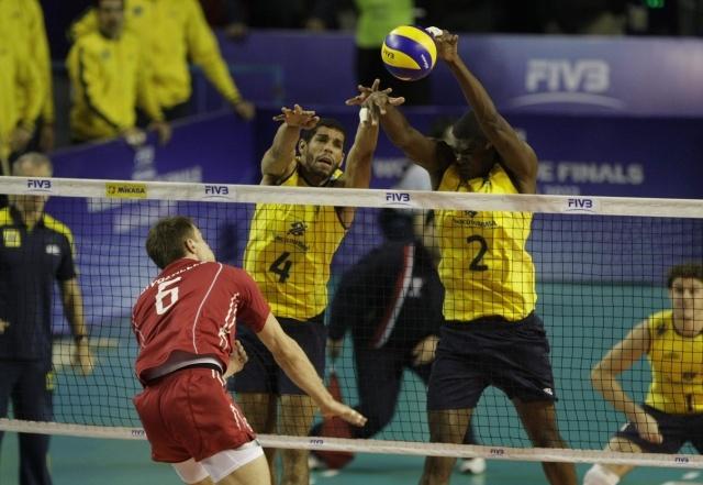 Россия - Бразилия в финале Мировой лиги 2013 по волейболу: Фото