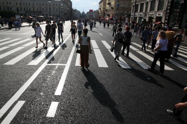Невский проспект ремонт лето 2013 год: Фото