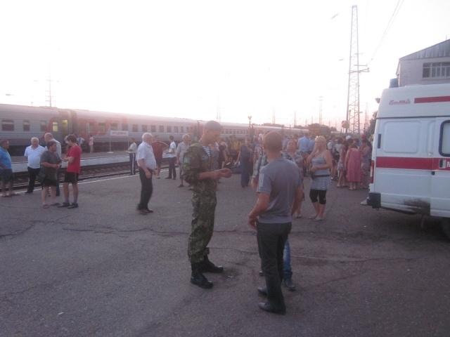Крушение поезда в Краснодарском крае: Фото