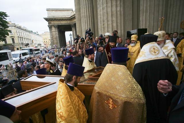 Крест Апостола Андрея в Петербурге (2): Фото