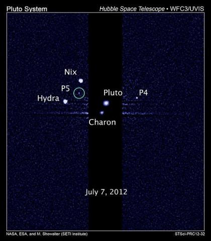 Спутники Плутона: Фото