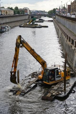 Очистка Обводного канала: Фото